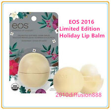 EOS 2016 Limited Edition Holiday Lip Balm Sphere Vanilla Bean 0.25oz / 7g