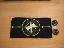 Original Stone Island Compass Badge and Button Set Label Patch + Knöpfe Neu TOP
