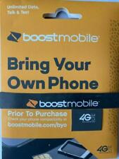 Boost Mobile BYOD 1-3 Month Service PROMOTIONAL OFFER  $50 Unlimited Plan