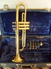 Vintage Boosey & Hawkes (b&h) 400 trompette/DENIS WICK EMBOUCHURE dans Hard case