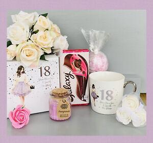 GIRLS 18th BIRTHDAY PAMPER HAMPER GIFT SET BOX HER BIRTHDAY DAUGHTER SIS FRIEND