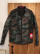 Mens North Face Jacket Coat Cammo Zip In Insulated Size Extra Large XL NEW