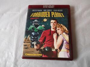 Forbidden Planet HD DVD Walter Pigeon Anne francis Leslie Nilsen 1956