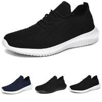 Men Leisure Sneakers Shoes Trainer Mesh Breathable Gym Fitness Sports Non-slip B