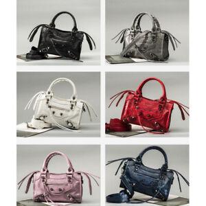 Women's Studded Fashion Shoulder Messenger Bags Tassels Crossbody Bags 9 colors