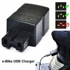 Universal Easy Use e-Bike Charge Port USB Charger For Mobile Phone 5V 1A Convert