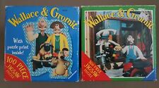 2 x RAVENSBURGER Wallace & Gromit - A Close Shave Boxed Jigsaw Puzzles