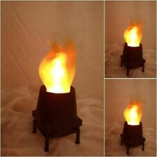 Silk Flame Fire Effect Lamp Fireplace Flame Real Effect Luxa Flamlighting