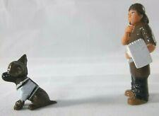 Homies EL Painter & brown dog white shop series 7 mini Figurine 7-6 figures lot
