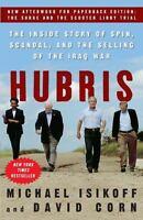 HUBRIS by Michael Isikoff, David Corn FREE SHIP paperback book Iraq War scandal