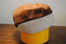 New listing Vintage ladies women (s) hat Corona Crown Brown White