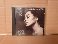 Diana Ross Live Stolen Moments The Lady Sings ... Jazz and Blues CD