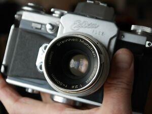 Edixa Flex Cassarit 50mm lens