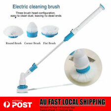 360° 3 Heads Electric Spin Scrubber House Cordless Cleaning Brush Mop Scrub