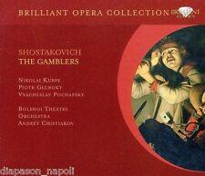 Shostakovich: The Gamblers / Chistiakov, Kurpe, Gluboky - CD
