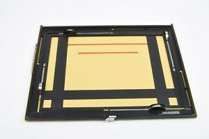 MINT- SAUNDERS 11x14 4 BLADE PROFESSIONAL EASEL FOR DARKROOM PRINTING VERY CLEAN