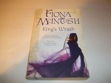 King's Wrath - Valisar Trilogy #3  by Fiona McIntosh SC new Australian edition