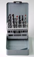 18pcs Combination Drill Set HSS Drill Bits, Brad Point Wood Drill, Masonry Drill