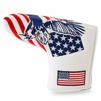 Golf Putter Cover Magnetic Blade Covers USA Eagle For Cameron Odyssey Taylormade
