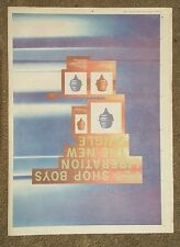 Pet shop boys Liberation 1994 press advert Full page 30 x 42 cm mini poster