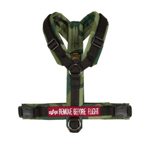 Alpha Industries Dog Harrnes 128933/239 Olive Camo Dog Harness