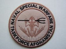 US (Navy Seal) Naval Special Warfare Task Force Afghanistan Patch (Desert)