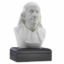 Ben Franklin Bust Sculpture FOUNDING FATHER Figure Statue