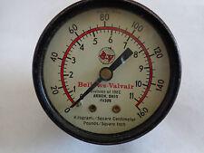 Bellows-Valvair 160 PSI Pressure Gauge (#2524)
