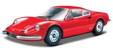 BBURAGO 1:24 DISPLAY FERRARI RACE & PLAY FERRARI DINO 246 GT DIECAST CAR 26515