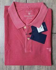Gant Sunbleached Poloshirt Gr.3XL XXXL Cardinal Red Rot Top Qualität SPRING 21..