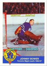 HIGH LINER 1993 JOHNNY BOWER NHL TORONTO MAPLE LEAFS ODDBALL FOOD MINT CARD 9/15
