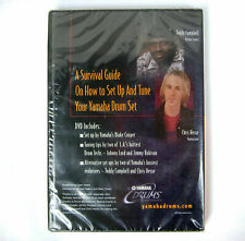 Survival Guide ~ How To Set Up and Tune Yamaha Drum Set ~ New Dvd
