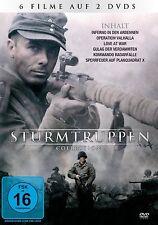 Sturmtruppen Box, 6 Filme 2 dvds. zweiter Weltkrieg,Ardennen,Operation,SS,Hitler