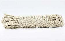 3Meter Cream Twist Nylon Rope String Cord Twine Rope Bracelet Synthetic Silk 5mm