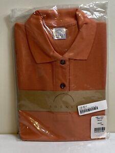 Women/'s BOGNER Purple 34 Sleeve 100/% Cotton Half Zip Polo Shirt Size M