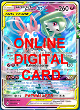 1X Gardevoir & Sylveon GX 130/214 Unbroken Bonds Pokemon Online Digital Card