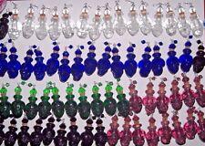10pc Huge Lot Mix Glass Skull Head BOTTLE Halloween stash Imp bottle pendant **