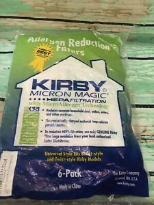 Kirby Vacuum Bags 6 Pack Micron Magic HEPA Universal Style