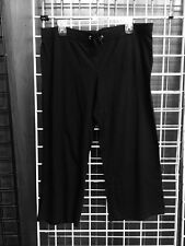 Womens Gap Body Black Athletic Capri Spandex Body Fit Medium  Stretch Size :M
