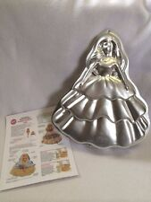 Wilton Barbie Doll Beautiful Day Cake Pan Mold Vtg 1995 With Instructions