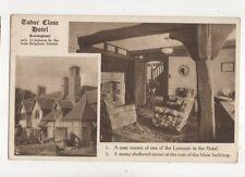 Tudor Close Hotel Rottingdean Vintage Postcard 857a