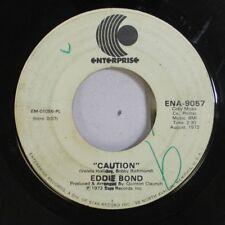 Country Promo 45 Eddie Bond - Caution / Caution On Enterprise