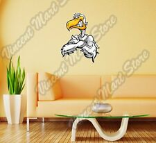 "Angry Pelican Sneering Seagull Bird Wall Sticker Room Interior Decor 20""X25"""