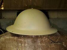 WWII Canadian Mark III Brodie Helmet Dated 1943