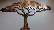 "Acacia Tree 9"" tall Metal Wall Art"