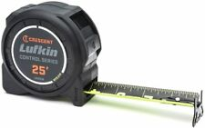 Crescent Lufkin 1-3/16 x 25' Command Control Series Black Clad Tape Measure