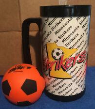 Minnesota Strikers Plastic Drinking Mug And Rubber Ball
