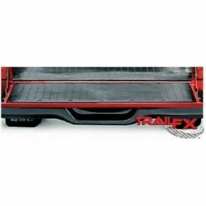 TRAIL FX M Tailgate Mat Direct-Fit Black Finish Nyracord 3/8 Inch Thick