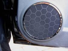 D Opel Corsa D Chrom Ring für Lautsprecher / Türlautsprecher - Edelstahl poliert