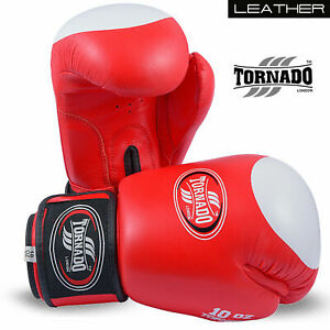 Boxing Gloves mma muay thai wraps sparring leather inner punching kickBoxing12oz